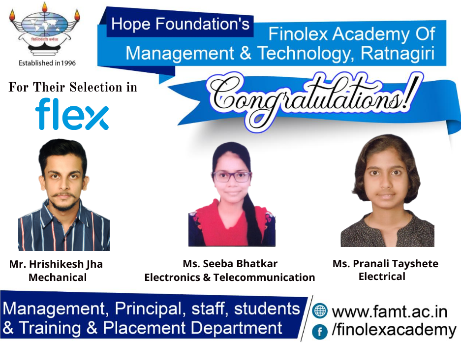 ISHRAE Job Junction 2017 - Finolex Academy of Management and Technology