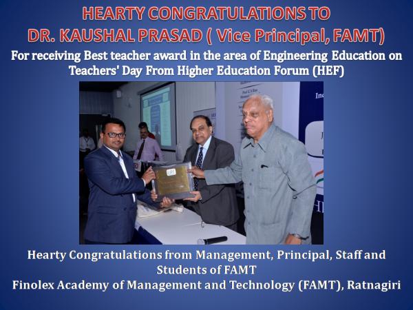 Dr. Kaushal Prasad