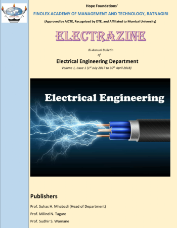 ELECTRICAL ENGINEERING - Finolex Academy of Management and