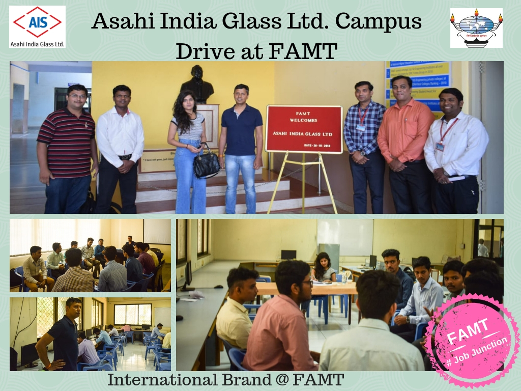 FAMT Training And Placement Cell, News and Events, Placement Record